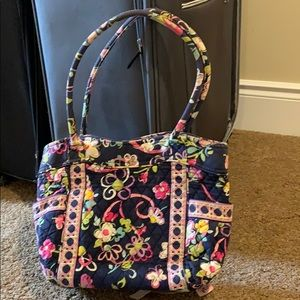 Vera Bradley ribbons purse handbag